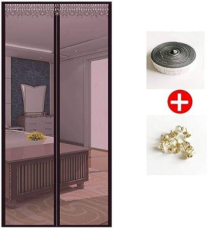 JHLD Mosquitera Puerta Magnetica, Dormitorio Cortina Mosquitera para Puertas, con Imanes, Sin Taladrar, Fácil De Instalar, Adecuado para Varios Puerta-150×220CM(59×87inch)-D: Amazon.es: Hogar