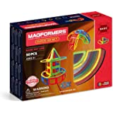 MAGFORMERS Curve (50 Piece) Magnetic Building Set