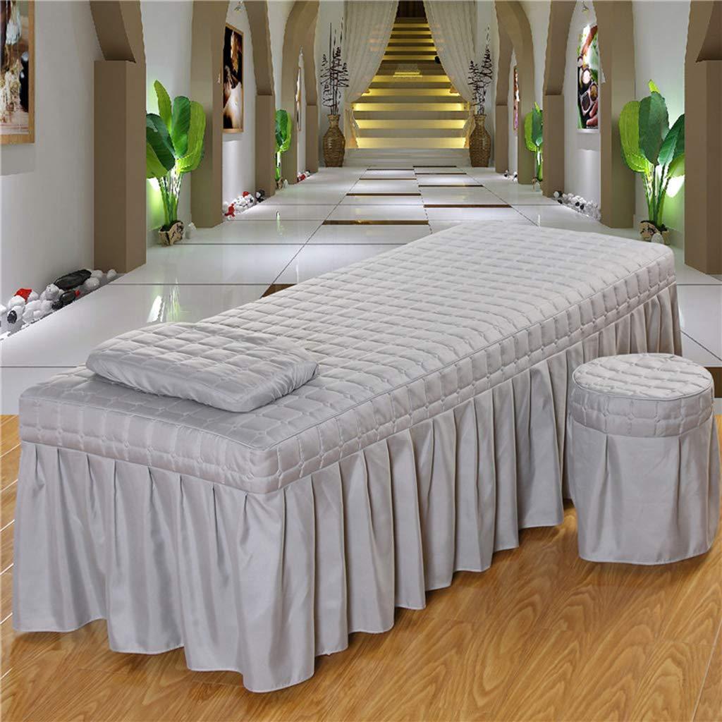 Massage Table Skirt Facial Salon Spa Tattoo Bed Valance Sheet Cover 185x70cm