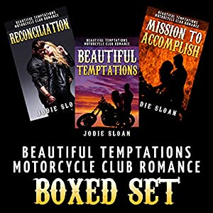 Beautiful Temptations [Motorcycle Club Romance Boxed Set] Audiobook