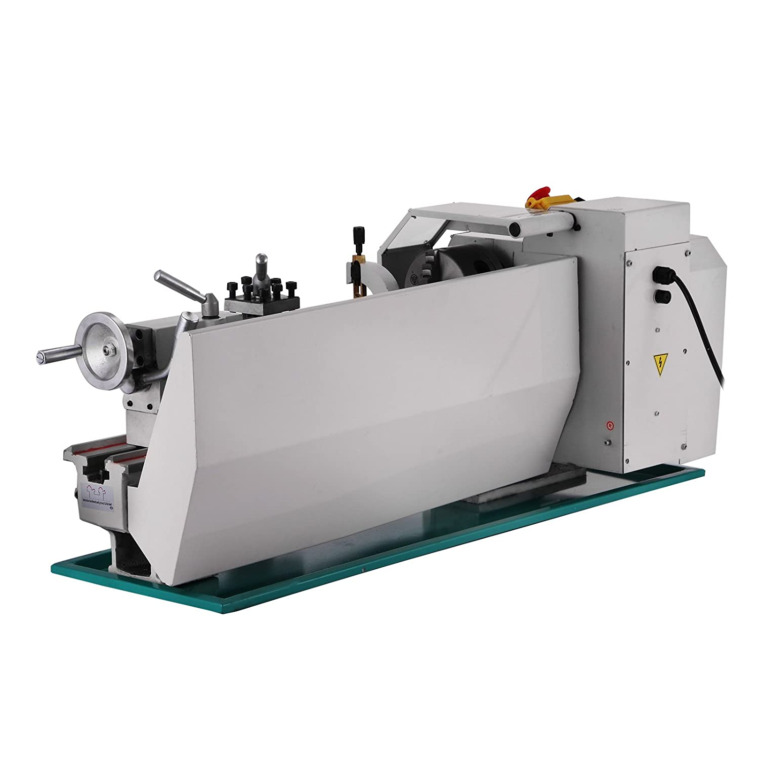 Mophorn Metal Lathe 8x16 Inch Precision Mini Lathe 2500 RPM 750W Variable  Speed Milling Benchtop Wood Lathe with Digital Control System (8 x 16 Inch)