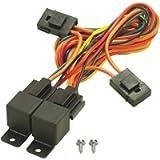 Derale 16765 Electric Fan Dual Relay Wire Harness, Black