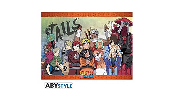 Fast Shipping Nauto All 9 Tail Beast Wall Poster 32 in  x 20 in