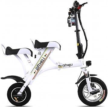 SED Scooter-Pequeña Bicicleta Eléctrica Plegable Mini Batería ...