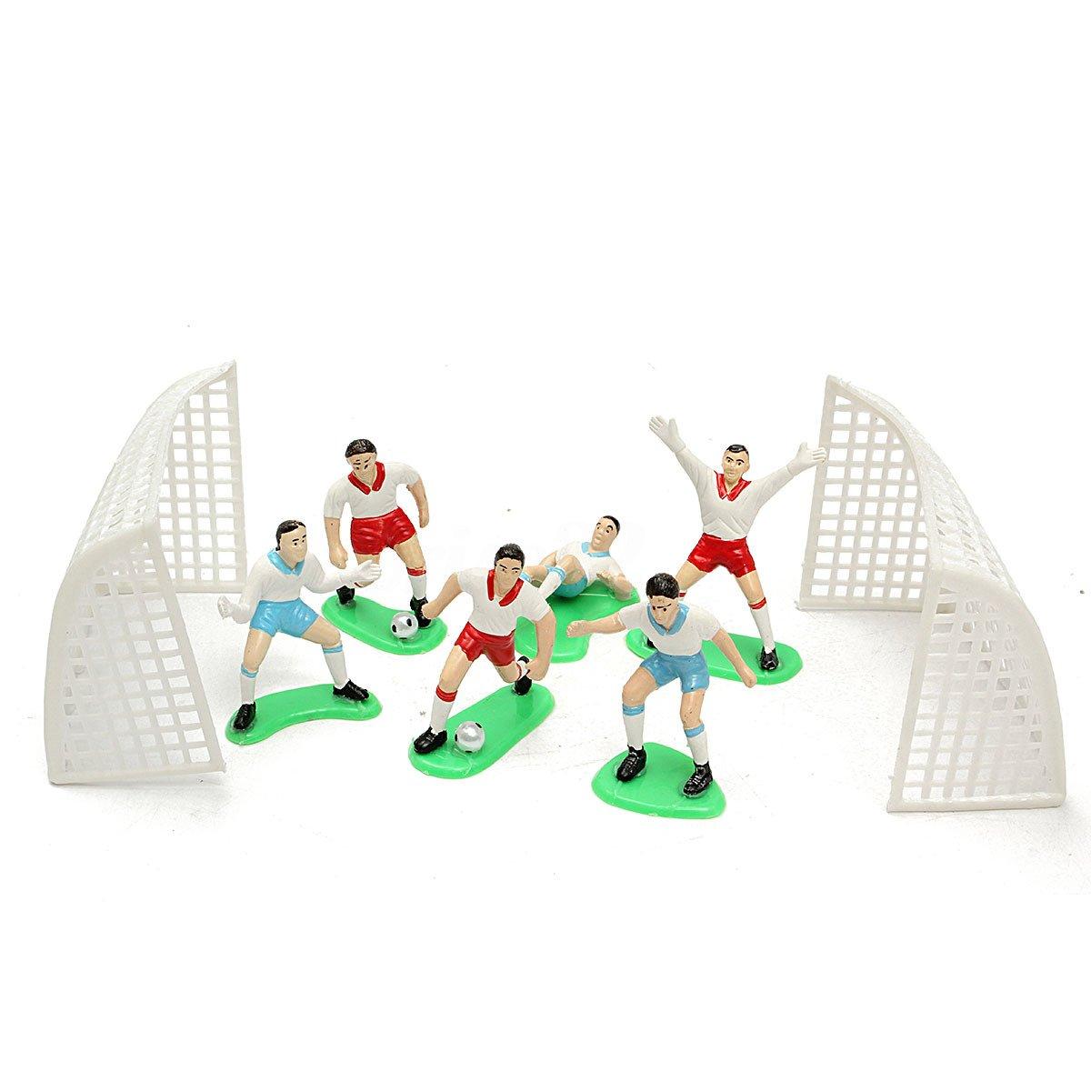 ACAMPTAR Juego de 8 moldes para decoración de Tartas de fútbol ...