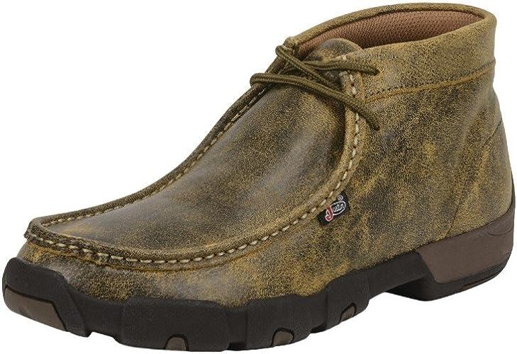 Casual Moc Toe Chukka Boots