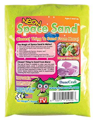Dunecraft Space Sand 1 oz. Yellow Science Kit ()