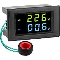 DROK LCD Display Digital Multimeter Voltmeter Ammeter AC 80-300V Voltage Current Meter Gauge 100A Volt Ampere Tester…