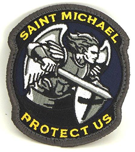 Saint Michael Modern Morale Patch (Full Color)