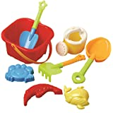 US Toy Beach Bucket Sand Castle Play Set (8 Piece)