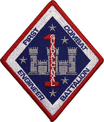 USMC First Combat Engineer Battalion Patch Full ()