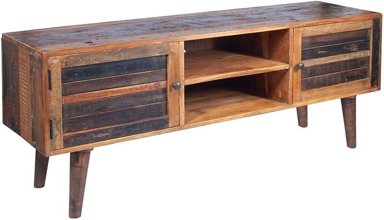 Home Gadgets Mueble TV Madera Rustico 150 cm: Amazon.es: Hogar