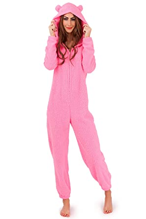 ac76a0dfa Loungeable Women s Boutique Hooded Onesie at Amazon Women s Clothing ...