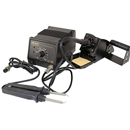 Circuit Specialists - Juego de estación y pinza SMD de soldadura (CSI 950+)