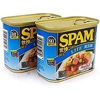 【实发4罐】世棒spam荷美尔午餐肉罐头火锅食材可即时 (清淡)【买2罐送2罐活动】