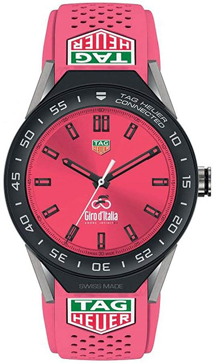 Amazon.com: TAG Heuer Connected Modular 45 Giro Ditalia ...