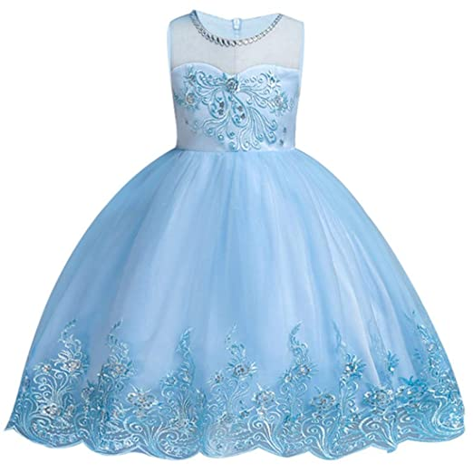 5efee637289b2 kids Showtime Girls Dresses Pageant Wedding Bridesmaid Princess Party  Flowers Ball Gown