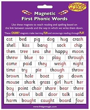 Fridgemagic Magnetic First Phonic Words