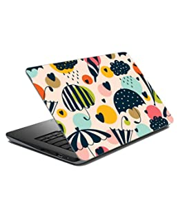 Paper Plane Design Laptop Skin for Upto 17 in Laptops