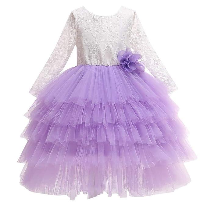Vectry Vestido Niña Disfraz Niñas Cosplay Princesa Dama De ...
