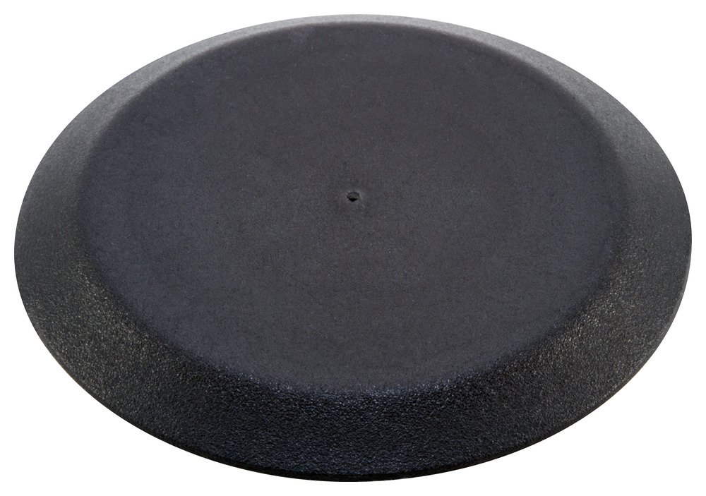 Caplugs 99190845 Plastic Button Plug with Flush Type Heads. BPF-4, PE-LD, Hole size 3.97-4.02'' Metal thickness .05-.10'', Black (Pack of 100)