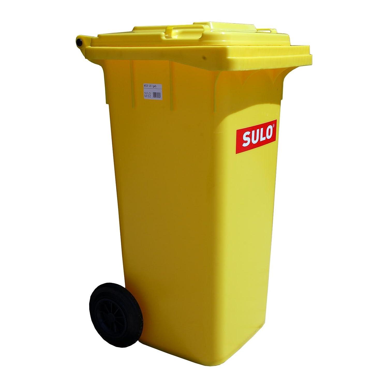 Mülltonne Müllbehälter 120 l gelb SULO