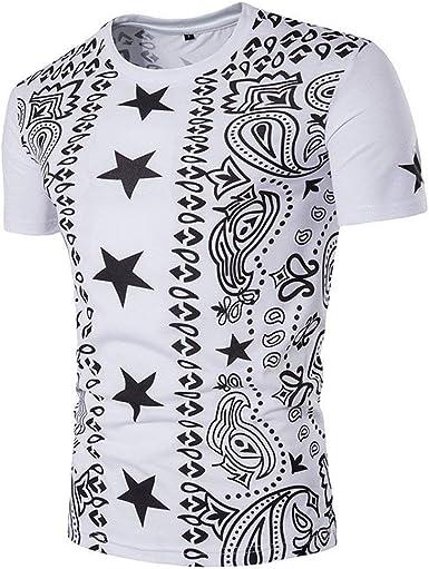 Lannister Fashion Camisa De Manga Corta Camisa De Jersey Camisa Retro De Polo Camisa De Polo Camisa De Cuello Redondo Camiseta Estampada Étnica De Hombre Slim: Amazon.es: Ropa y accesorios