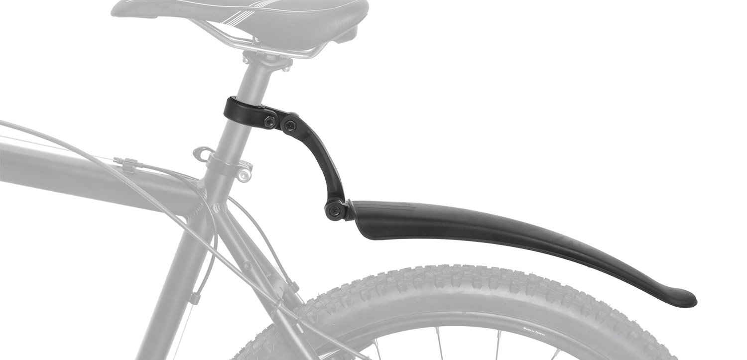 Universal for 20-29 black, Unisex Adult for Rear Bicycle Mudguard Made Of Plastic