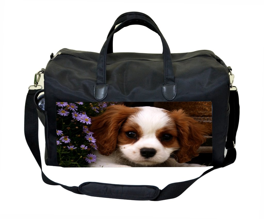 Puppy Behind a Fence Weekender//Overnighter Bag
