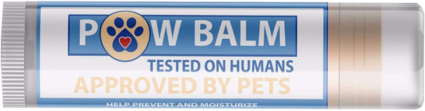 Pawtitas Balsamo para Perro con Cera Protectora para Almohadillas de Las Patas de tu Perro | Crema humectante para Las Almohadillas de tu Mascota Que Protege Las Patas agrietadas y secas - 4,5 ml