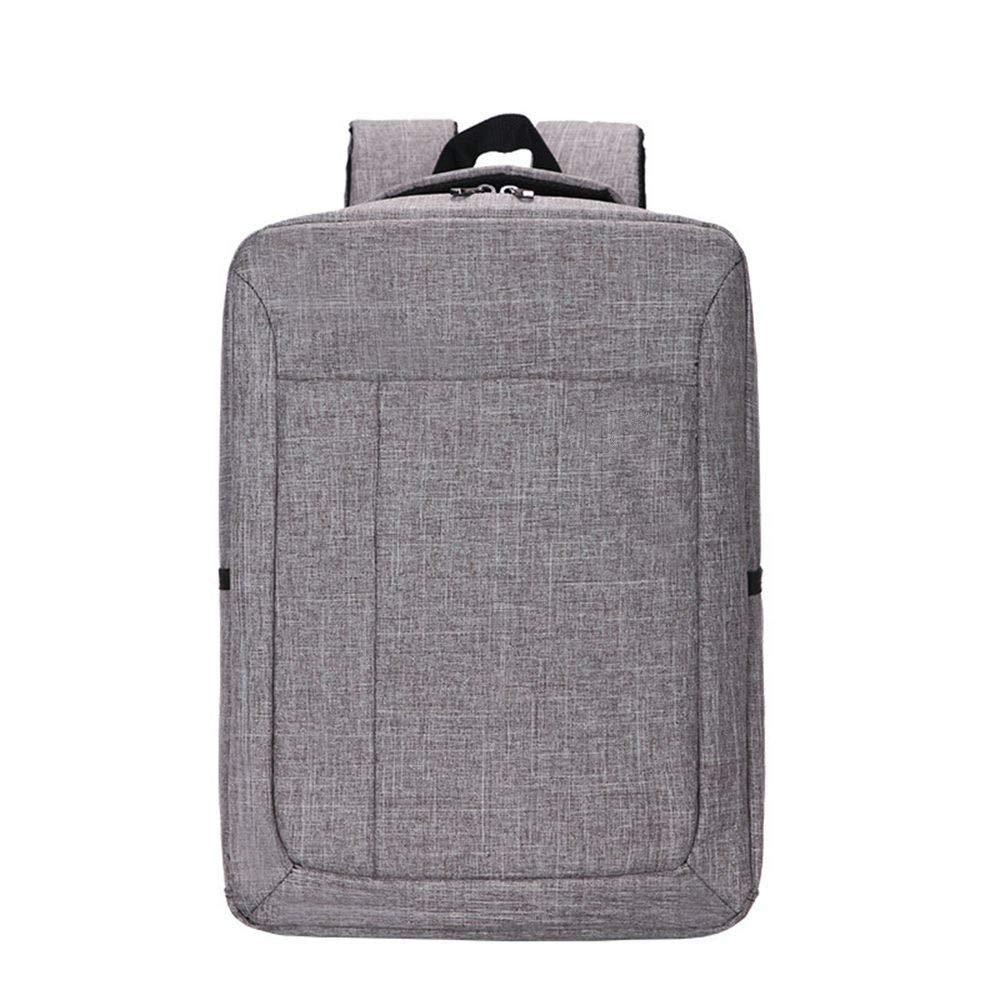 Light grey DYR Laptop Bag Men and Women Shoulder Bag Student Bag Outdoor Travel Bag Casual Shoulder Messenger Bag Handbag