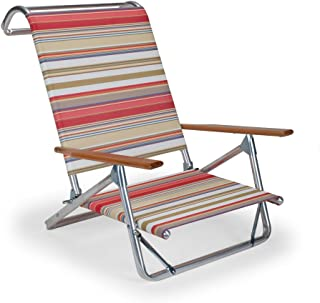 product image for Telescope Casual 74131001 Original Mini-Sun Chaise Folding Beach Arm Chair, Fiesta