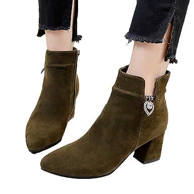 OSYARD Damenmode Sale,Low Top Ankle Stiefeletten Damen