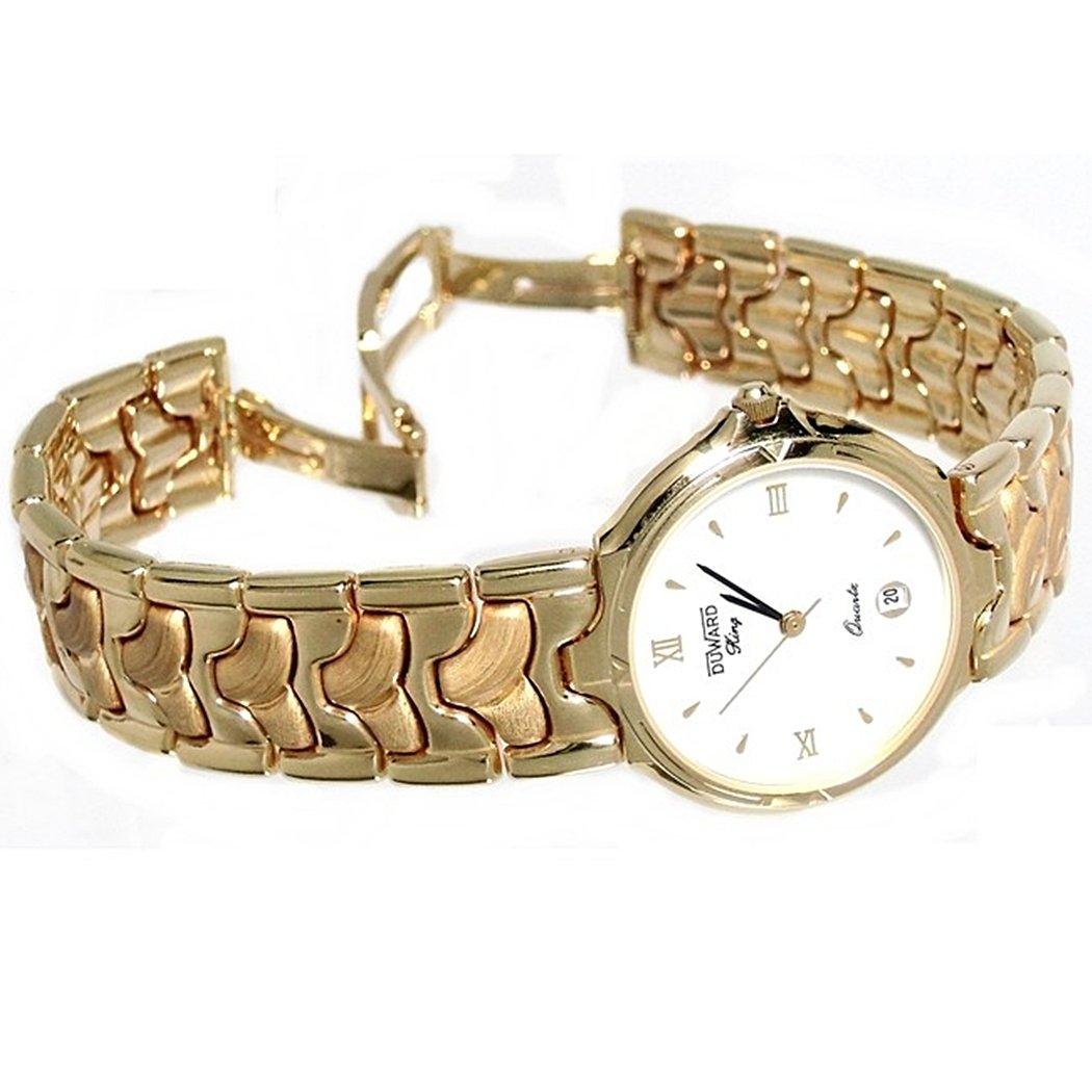 52c1f60e30e0 Reloj Duward King oro 18k mujer R11759 redondo armys  6074  - Modelo  King  oro 18k  Amazon.es  Joyería