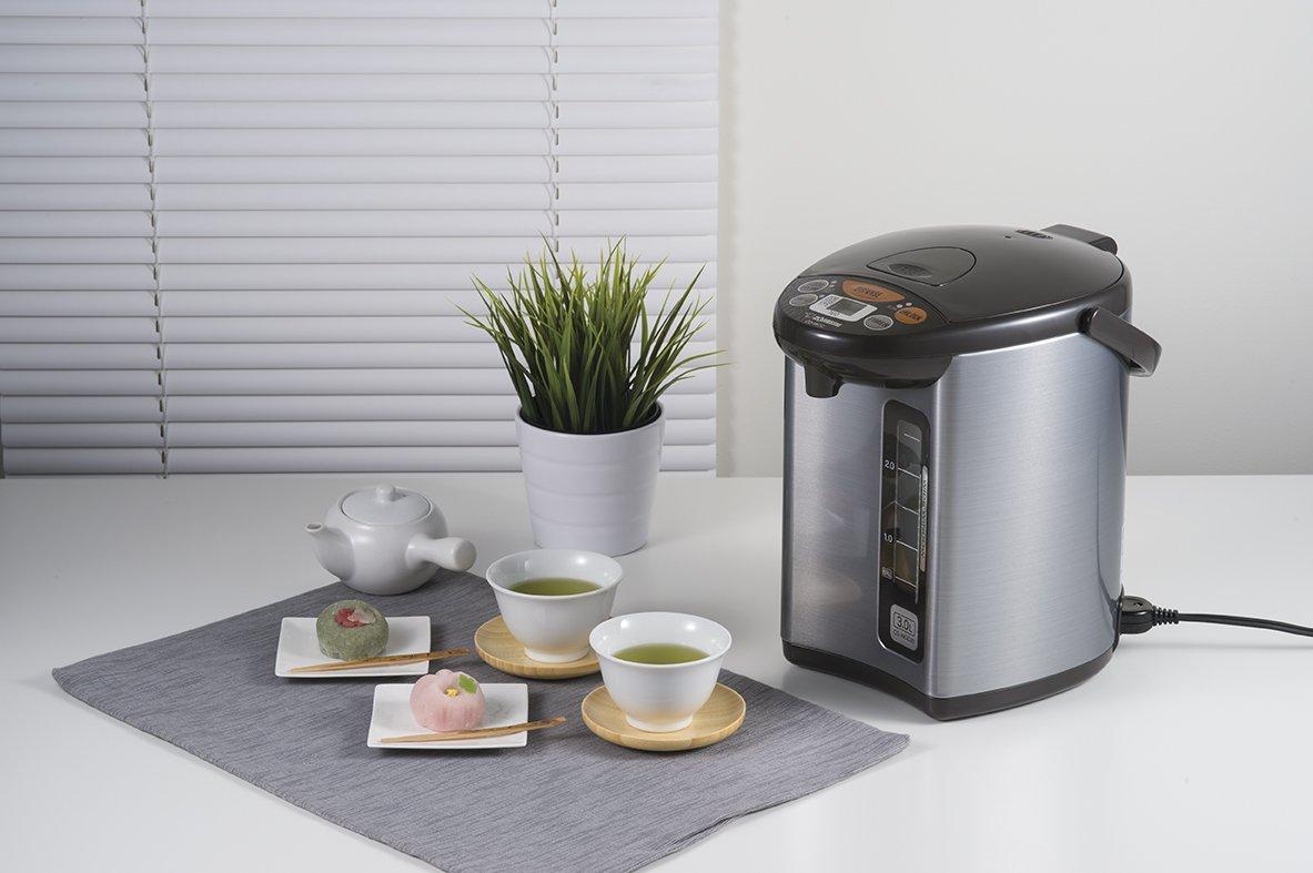 Zojirushi CD-WCC30 Micom Water Boiler & Warmer, Silver by Zojirushi (Image #2)