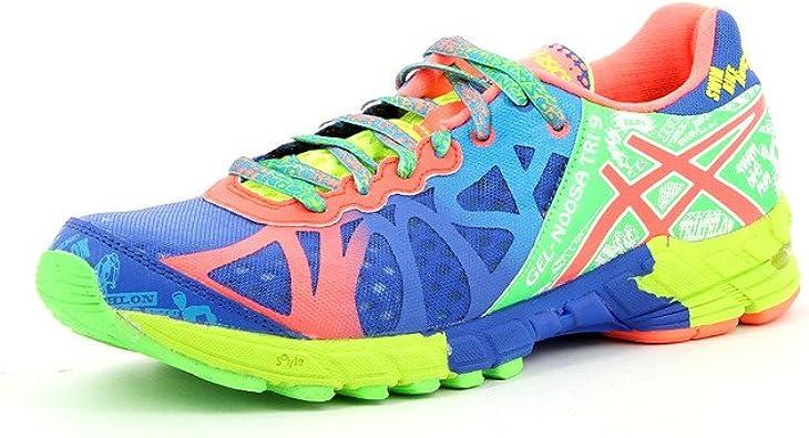 cáustico Último Tiempo de día  Asics - Zapatillas asics noosa tri 9 para hombre, talla 46, color verde /  azul / neoncoral: Amazon.es: Zapatos y complementos