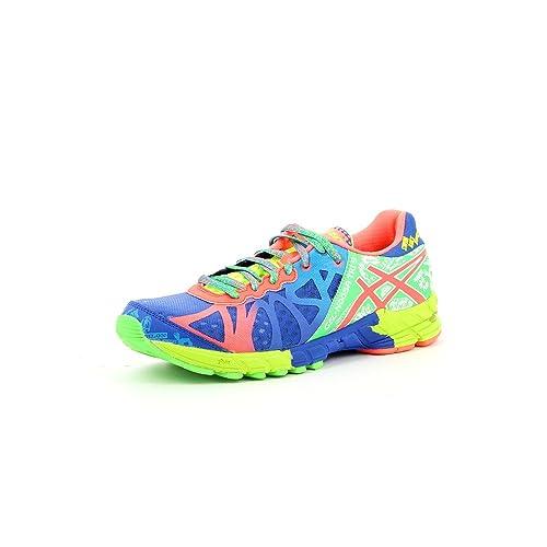 Asics - Zapatillas asics noosa tri 9 para hombre, talla 44.5, color verde / azul / neoncoral: Amazon.es: Zapatos y complementos