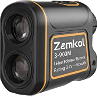 Laser Rangefinder,Zamkol 1000 yards Golf Rangefinder,IP54 Laser Binoculars For Hunting,Multi-Function Hunting Rangefinder with Speed /Vertical Height/Angle /Horizontal Distance Measurement