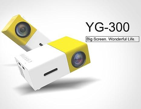 Amazon.com: Portable Pico proyectores, fuleadture Multimedia ...