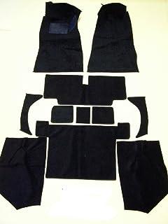 Newark Auto 70-74 240Z 260Z Datsun//Nissan Black Nylon Cut Pile Replacement Carpet With 20 Ounce Padding