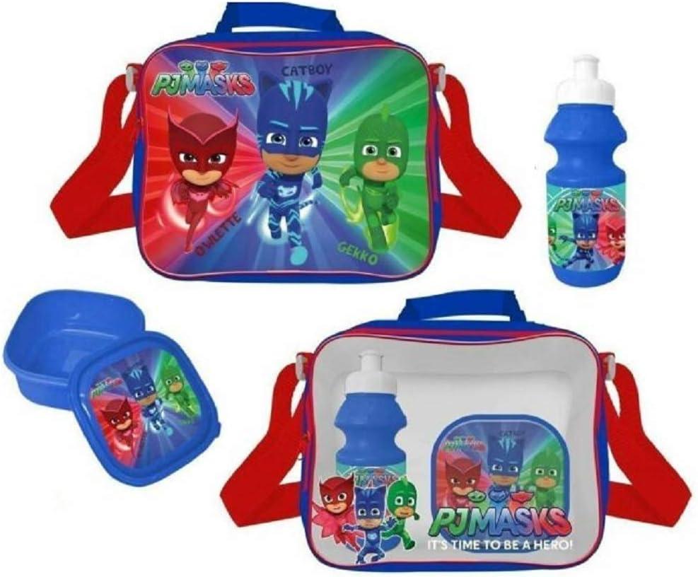 WALT DISNEY EMEA 4105V-7449 PJ Mask - Bolsa para el almuerzo, color azul , color/modelo surtido