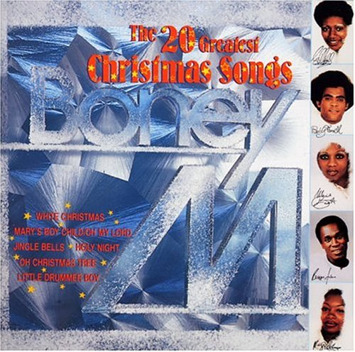 release �the 20 greatest christmas songs� by boney m
