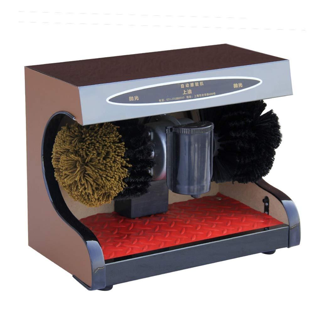 Qi Peng Shoe Polisher-Automatic Shoe Polisher, Household Brush Shoe Machine-7 Colors Automatic Shoe Polisher (Color : D, Size : 1#)