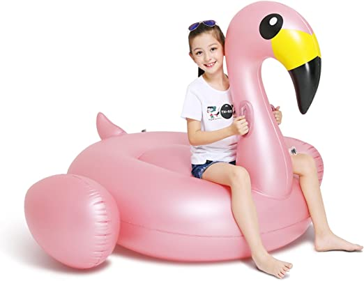 Inflatable Giant Unicorn Rose Gold Flamingo Duck Swimming Pool Kids Gift toy f10