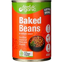 Absolute Organic Baked Beans in Tomato Sauce, 400 g