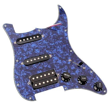 xMxDESiZ - Juego de 3 púas para guitarra eléctrica de plástico con ...