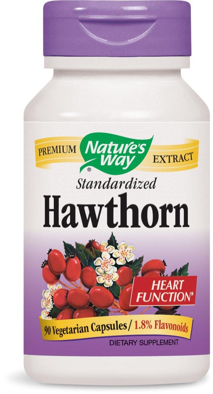 Nature's Way Hawthorn Berries, 90 Capsules (Pack of 2)