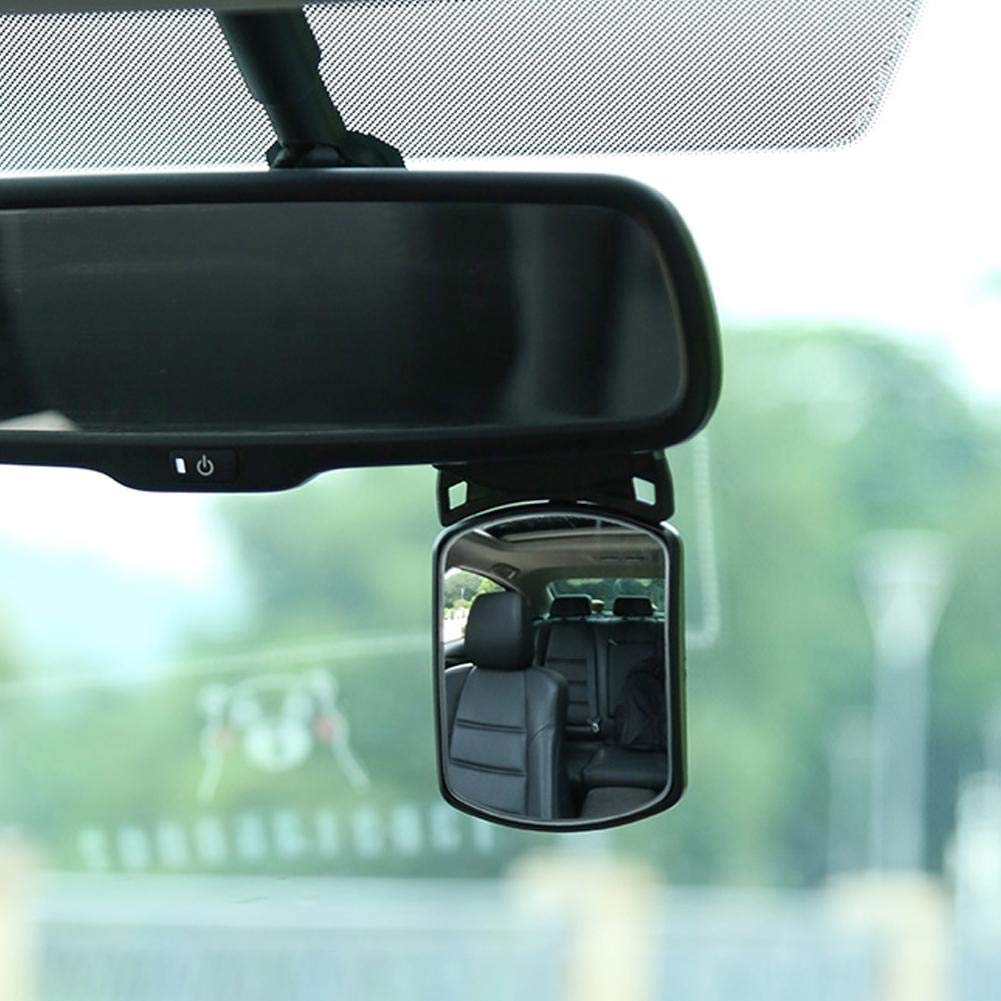 Espejo Montado En El Autom/óvil Wovemster Espejo Retrovisor Giratorio para Beb/és Espejo Retrovisor Auxiliar para Autom/óvil Espejo para Beb/és A Prueba De Golpes De Seguridad