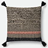 Loloi P0564 Wool, Viscose and Cotton Pillow Cover