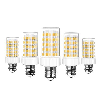 RANBOO E14 Bombilla LED 10W incandescente Equivalente a 80W 800lm Blanco Cálido 3000K AC220-240V